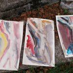 Рисунки, акварели, пленер